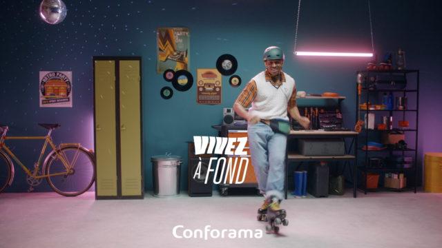 CONFORAMA – VIVEZ À FOND, DORMEZ À FOND